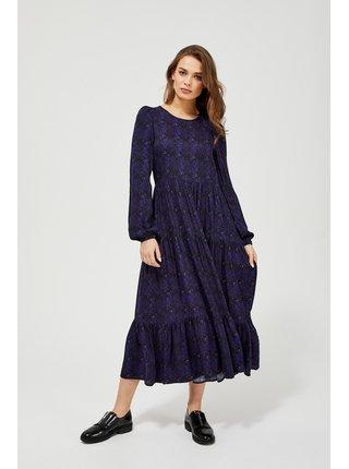 Moodo modré maxi šaty