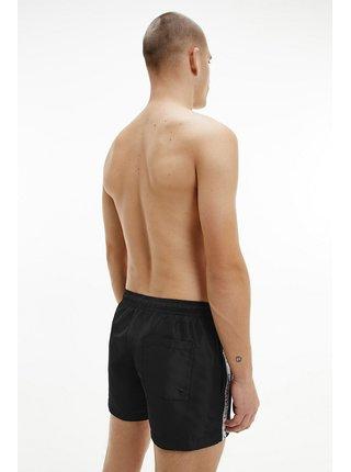 Calvin Klein čierne pánske plavky Short Drawstring