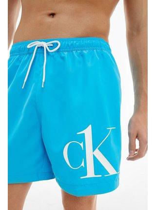 Calvin Klein tyrkysové pánské plavky Medium Drawstring