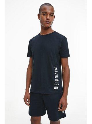 Calvin Klein čierne pánske tričko Relaxed Crew Tee