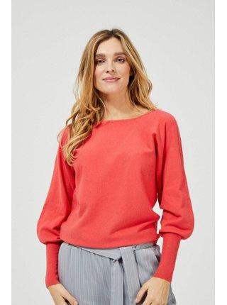 Moodo sveter s výstřihem na zádech