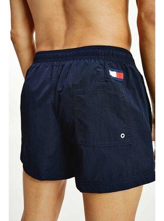 Tommy Hilfiger modré pánske plavky Short Drawstring
