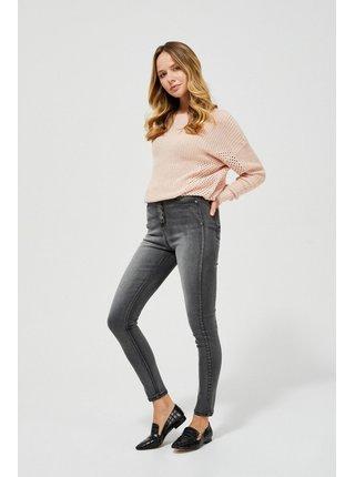 Moodo šedé džíny