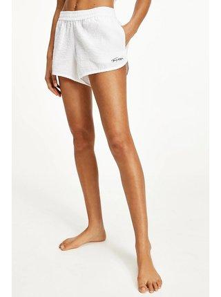 Tommy Hilfiger bílé sportovní kraťasy Shorts