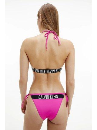 Calvin Klein ružové horný diel plaviek Triangle-RP