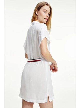 Tommy Hilfiger bílé košilové šaty Shirt Dress