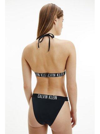 Calvin Klein černý spodní díl plavek High Rise Tanga