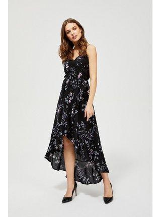 Moodo černé letní šaty