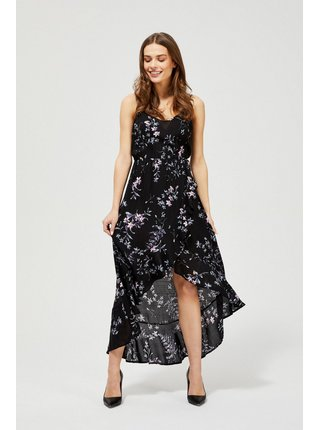 Moodo čierne letné šaty