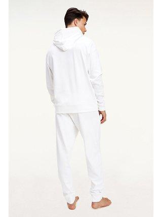 Tommy Hilfiger bílá pánská mikina Hoodie LWK s kapucí