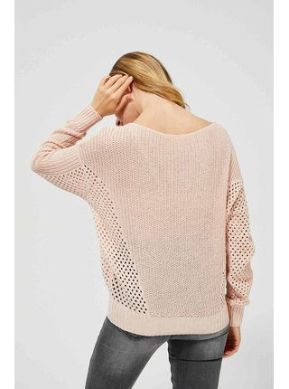 Moodo púdrové sveter s madeirou