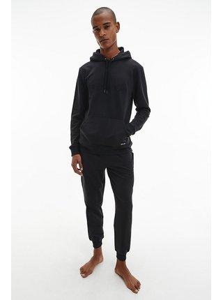 Calvin Klein čierne pánska mikina L/S Hoodie s kapucňou