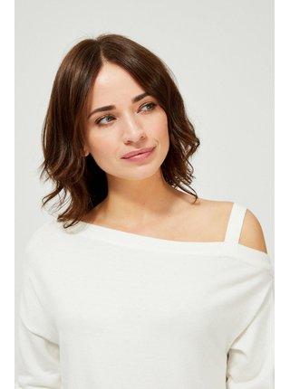 Moodo biele sveter