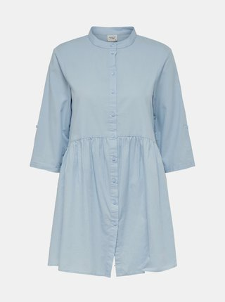 Svetlomodré košeľové šaty Jacqueline de Yong Cameron