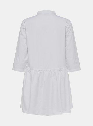 Bílé košilové šaty Jacqueline de Yong Cameron
