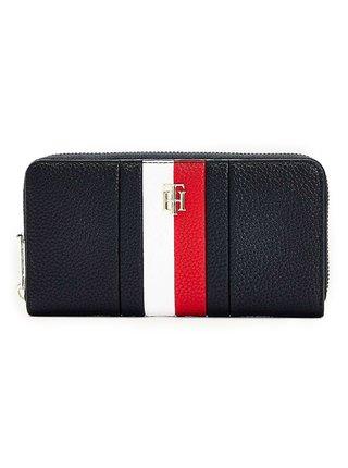 Tommy Hilfiger tmavomodrá dámska peňaženka TH Essence Large