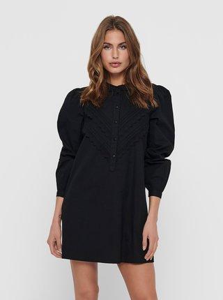 Čierne košeľové šaty Jacqueline de Yong Mumbai