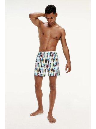 Tommy Hilfiger farebné pánske plavky Medium Drawstring Print