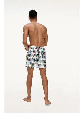 Tommy Hilfiger barevné pánské plavky Medium Drawstring Print