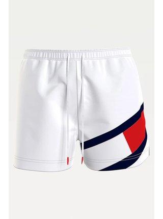 Tommy Hilfiger biele pánske plavky Medium Drawstring