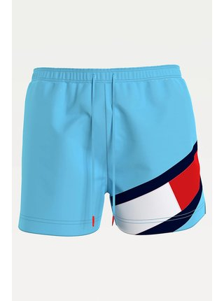 Tommy Hilfiger modré pánske plavky Medium Drawstring