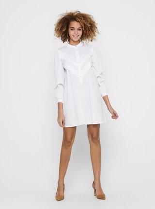 Bílé košilové šaty Jacqueline de Yong Mumbai