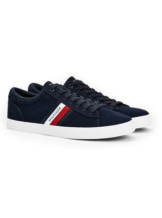 Tommy Hilfiger modré pánské tenisky Essential Stripes Detail Sneaker