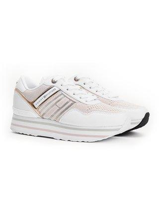 Tommy Hilfiger stylové tenisky na platformě Knitted Flatform Sneaker