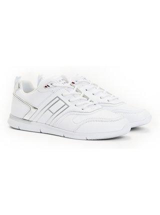 Tommy Hilfiger bílé tenisky Metallic Lightweight Sneaker