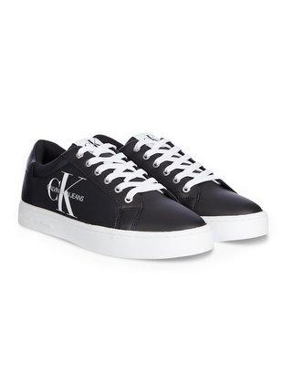 Calvin Klein čierne pánske tenisky Cupsole Sneaker Laceup