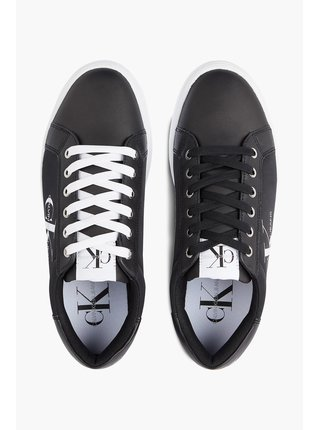 Calvin Klein černé pánské tenisky Cupsole Sneaker Laceup