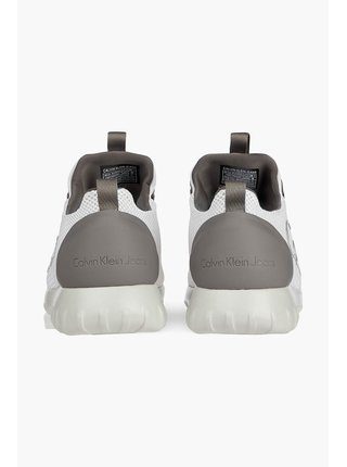 Calvin Klein biele pánske tenisky Runner Sneaker Laceup