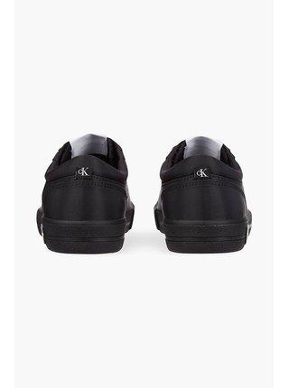 Calvin Klein čierne tenisky Vulcanized Sneaker Laceup