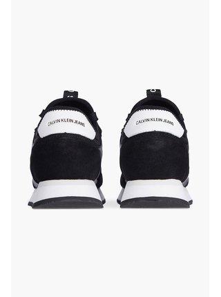 Calvin Klein černé tenisky Runner Sock Laceup