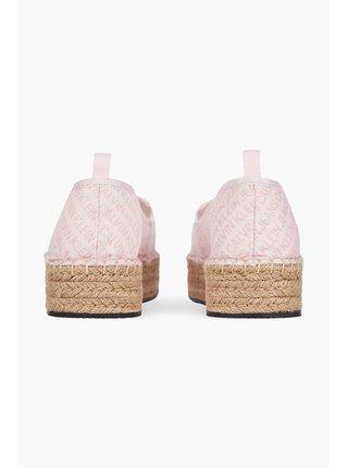 Calvin Klein ružové espadrilky Espadrille Wedge