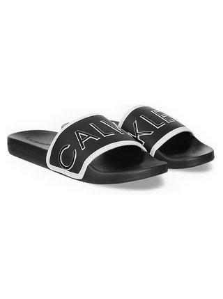 Calvin Klein černé pantofle Slide Padded