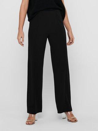 Čierne široké nohavice Jacqueline de Yong