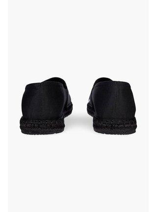 Calvin Klein čierne espadrilky Espadrille Roped Toe