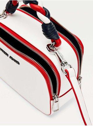 Tommy Hilfiger biele crossbody kabelka TJW Femme PU Crossover Corporate