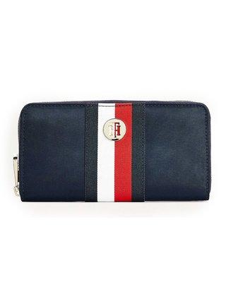 Tommy Hilfiger modré peňaženka Poppy Large Za Desert Sky