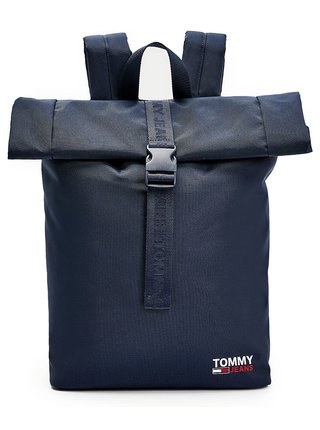 Tommy Hilfiger modré ruksak Campus Roll Backpack