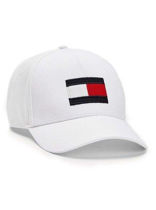 Tommy Hilfiger biele šiltovka Big Flag Cap