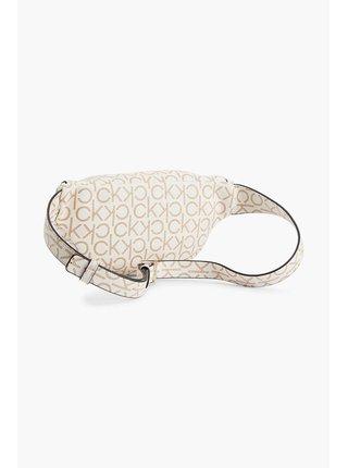 Calvin Klein smetanová ledvinka Waistbag Monogram