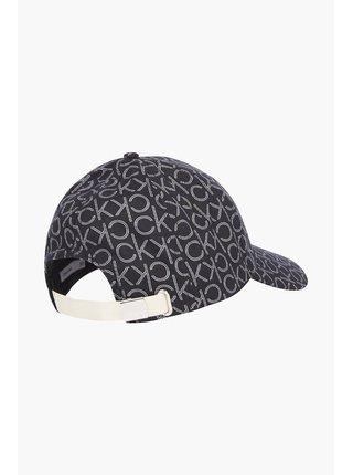 Calvin Klein čierne šiltovka BB Cap s logom