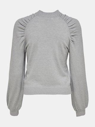 Světle šedý svetr Jacqueline de Yong Kourtney