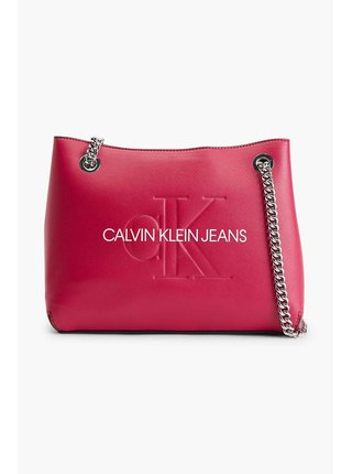 Calvin Klein fuchsiová kabelka Shoulder Bag