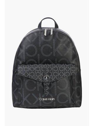 Calvin Klein čierne ruksak BP W/PCKT Mono