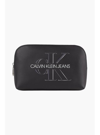 Calvin Klein čierne kozmetická taška Cosmetic Pouch Glow