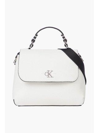 Calvin Klein biele kabelka Mini Top Handle