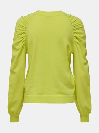 Žltozelený sveter Jacqueline de Yong Kourtney